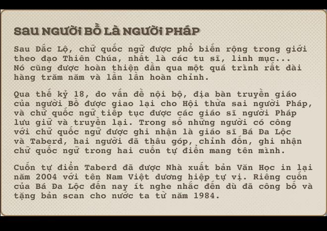 Kỳ 2: Chữ quốc ngữ ra đời lúc nào? - Ảnh 7.