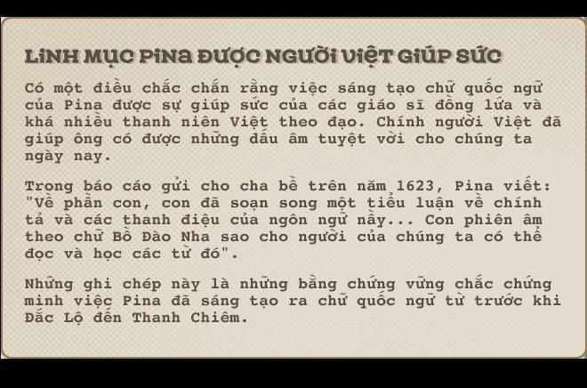 Kỳ 3: Francesco De Pina - người đầu tiên tạo chữ quốc ngữ - Ảnh 6.