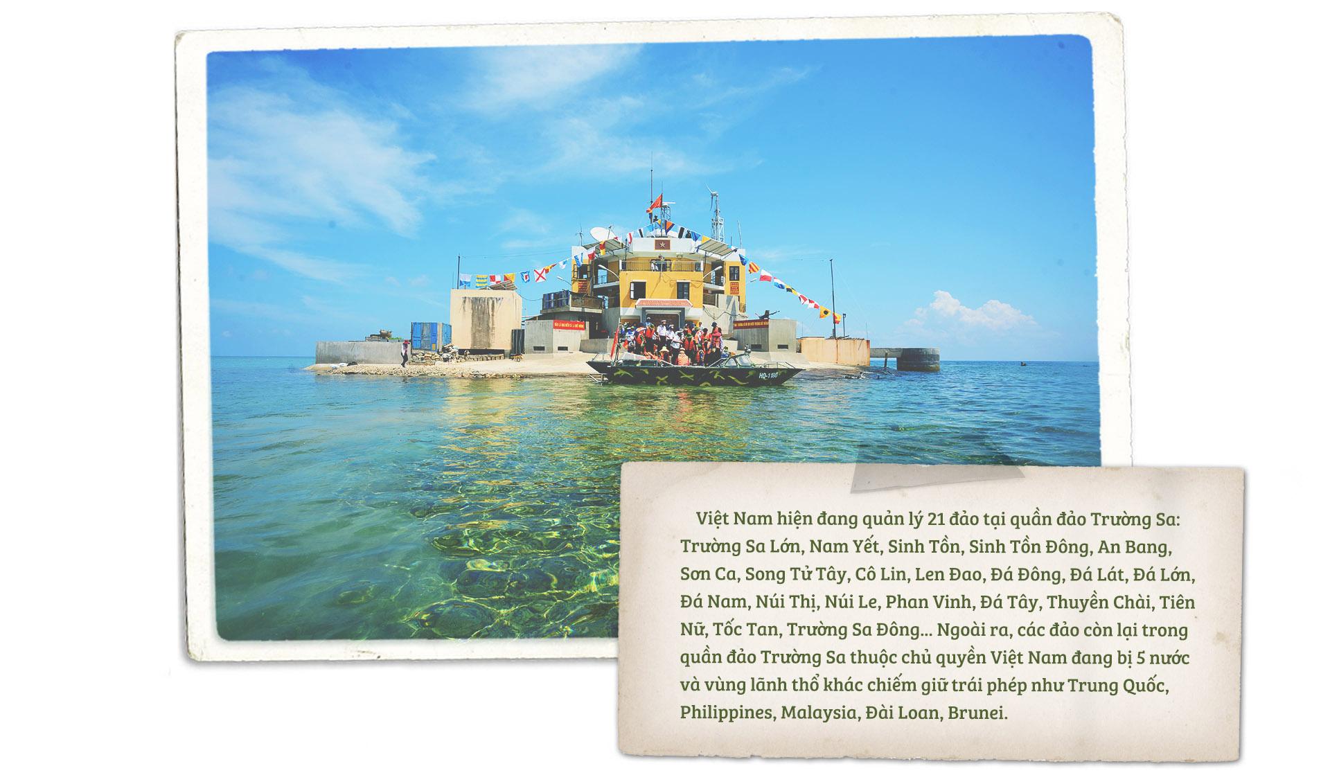 Thành phố nhỏ trên Biển Đông: Trường Sa - Ảnh 18.