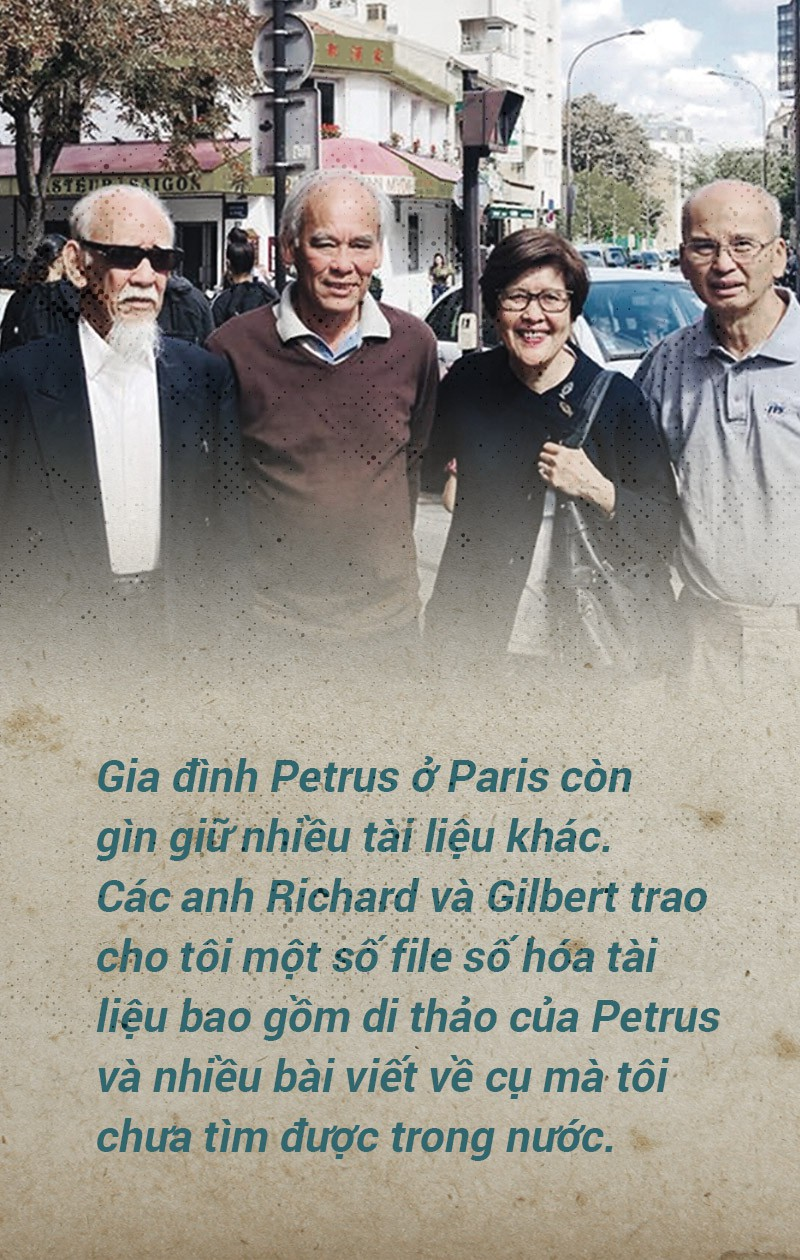Gặp hậu duệ Petrus Ký - Ảnh 6.