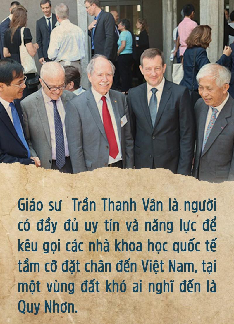 Giáo sư Trần Thanh Vân - Người gieo mầm bền bỉ - Ảnh 1.