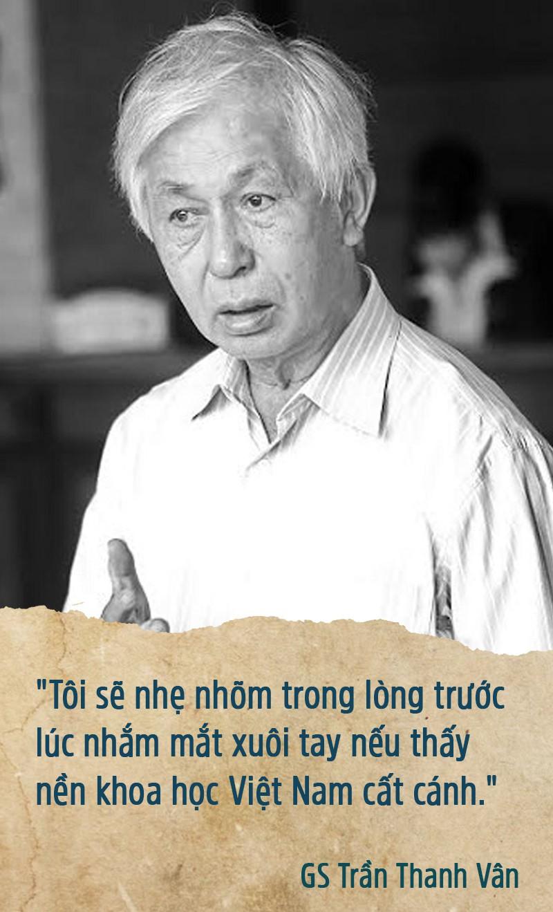 Giáo sư Trần Thanh Vân - Người gieo mầm bền bỉ - Ảnh 4.