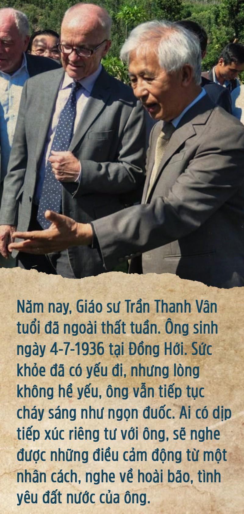 Giáo sư Trần Thanh Vân - Người gieo mầm bền bỉ - Ảnh 6.