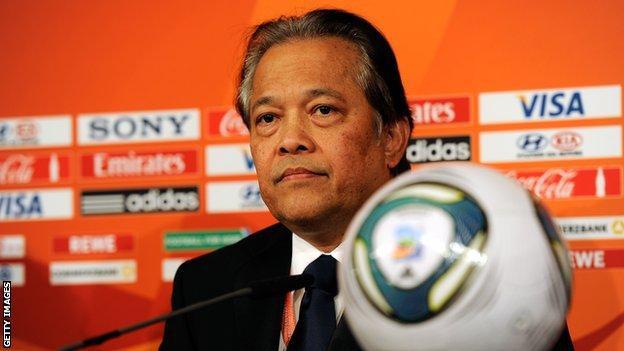 Cựu chủ tịch Liên đoàn bóng đá Thái Lan Makudi được trắng án - Ảnh 1.