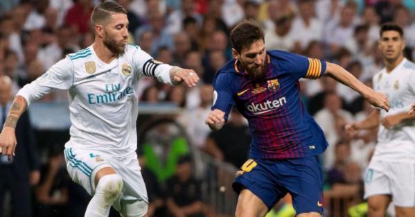 Barca chạm trán với Real ở bán kết Cúp nhà vua - Ảnh 1.
