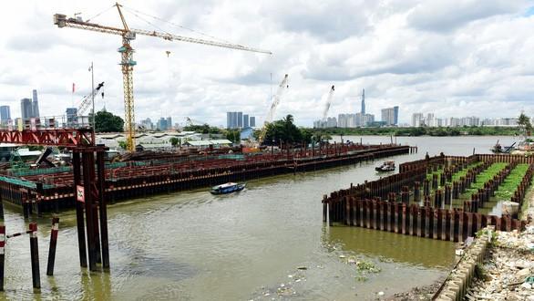 Dự án chống ngập 10.000 tỉ: Đánh giá lại việc dùng thép Trung Quốc - Ảnh 1.