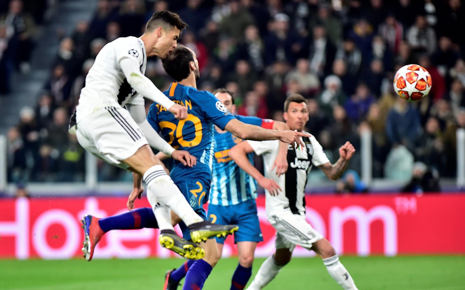 Xem 'siêu nhân' Ronaldo đánh bại Atletico Madrid qua ảnh