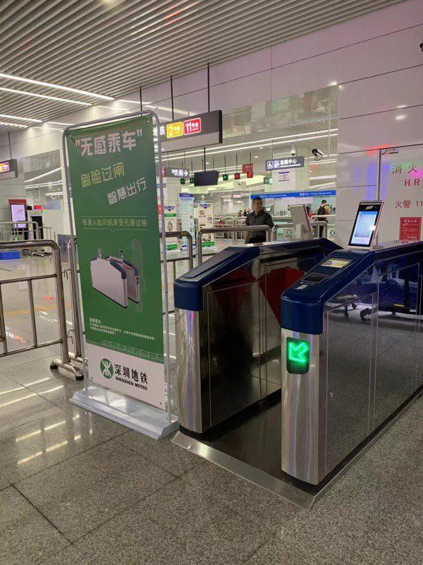 Thâm Quyến thử nghiệm công nghệ nhận diện khuôn mặt khách đi metro - Ảnh 2.
