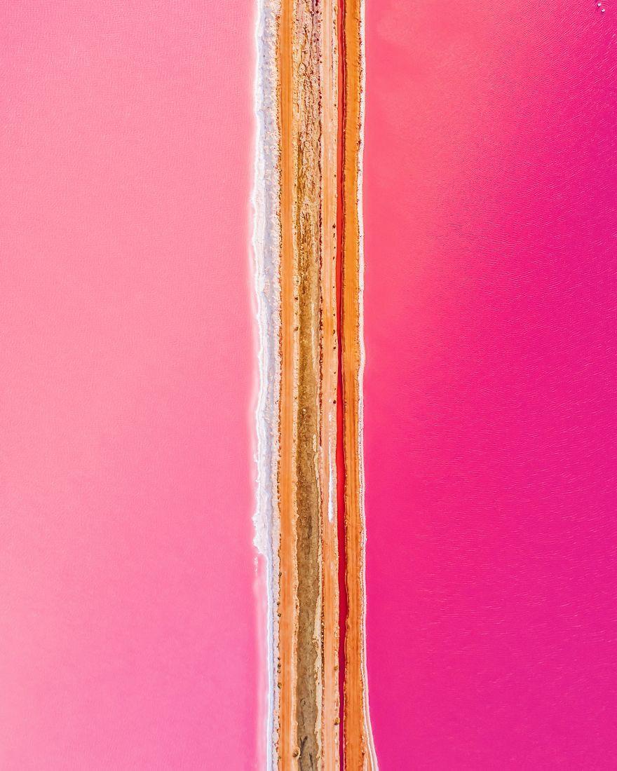 Kỳ lạ hồ nước màu hồng, đỏ, cam theo giờ - Ảnh 5.