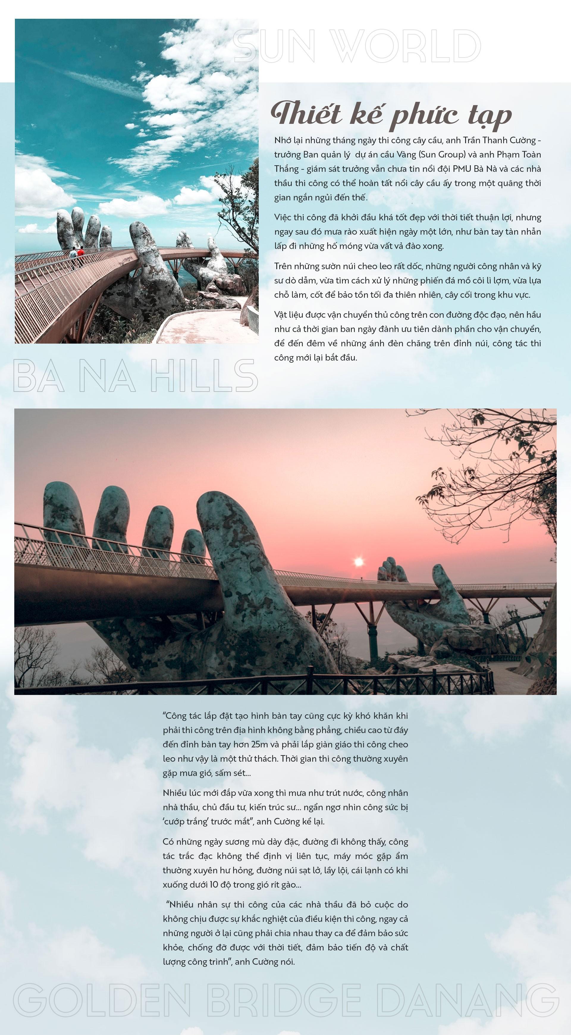 Cầu Vàng - biểu tượng mới giữa ngàn mây - Ảnh 5.