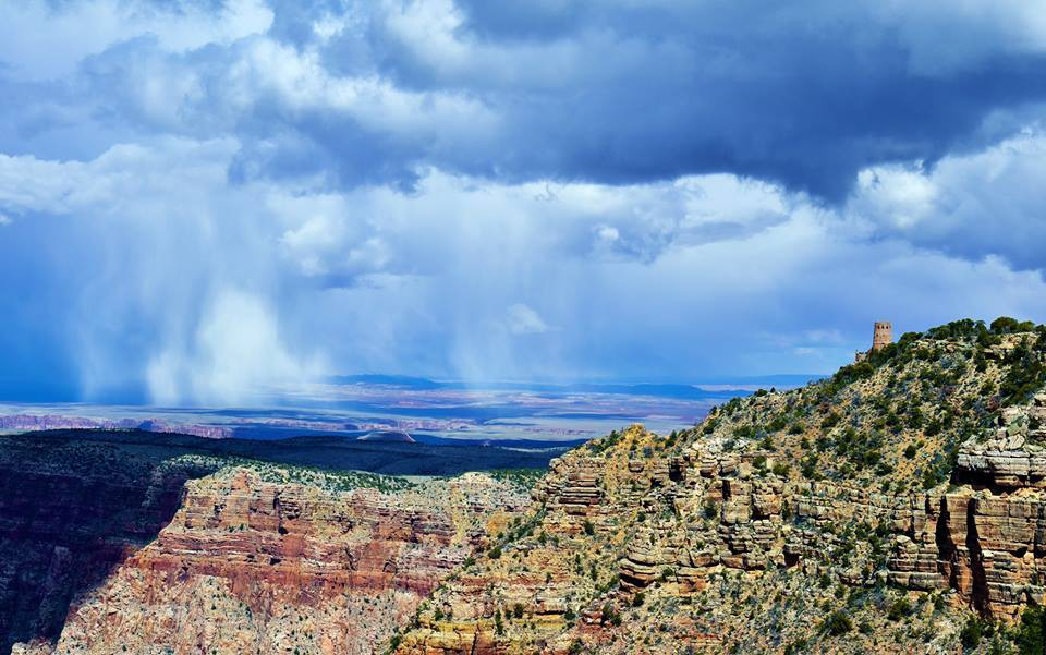 Kỳ quan Grand Canyon tráng lệ mùa tuyết rơi - Ảnh 11.