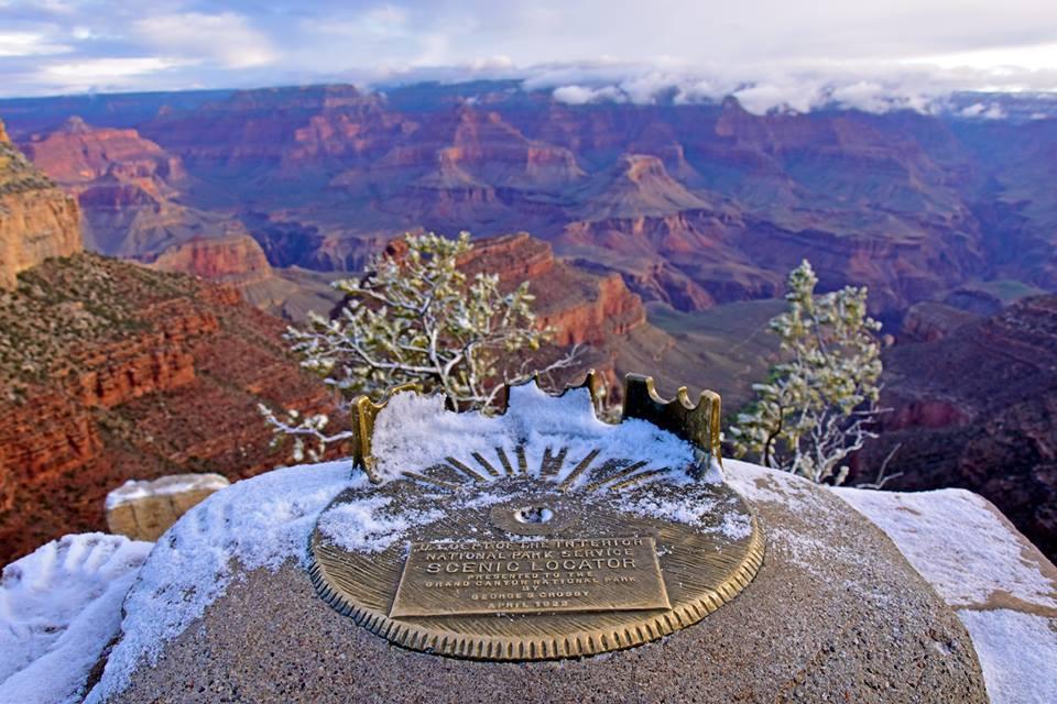 Kỳ quan Grand Canyon tráng lệ mùa tuyết rơi - Ảnh 10.