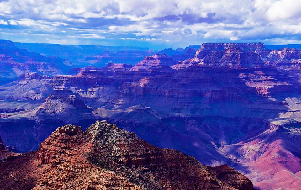 Kỳ quan Grand Canyon tráng lệ mùa tuyết rơi - Ảnh 12.