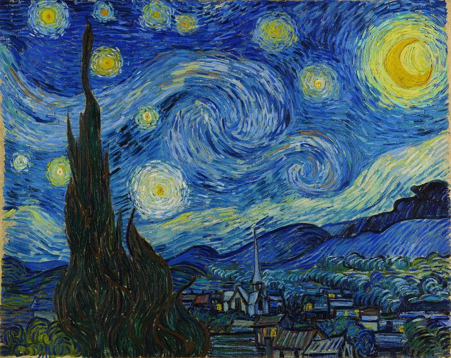 Lần đầu tiên xem tranh Van Gogh phiên bản số ở Việt Nam  - Ảnh 3.