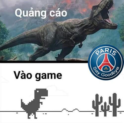 Dân mạng chế logo PSG thành Paris... Say Goodbye sau trận thua M.U - Ảnh 1.