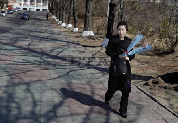 Chùm ảnh không khí ngày Quốc tế Phụ nữ tại Bình Nhưỡng - Ảnh 5.