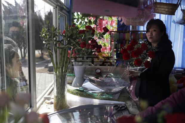 Chùm ảnh không khí ngày Quốc tế Phụ nữ tại Bình Nhưỡng - Ảnh 6.