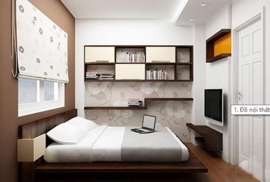 Bố trí phòng ngủ đẹp và khoa học cho vợ chồng trẻ - Ảnh 1.