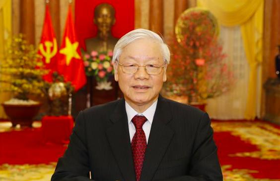 Tổng bí thư, Chủ tịch nước gửi điện mừng các lãnh đạo mới của Triều Tiên - Ảnh 1.