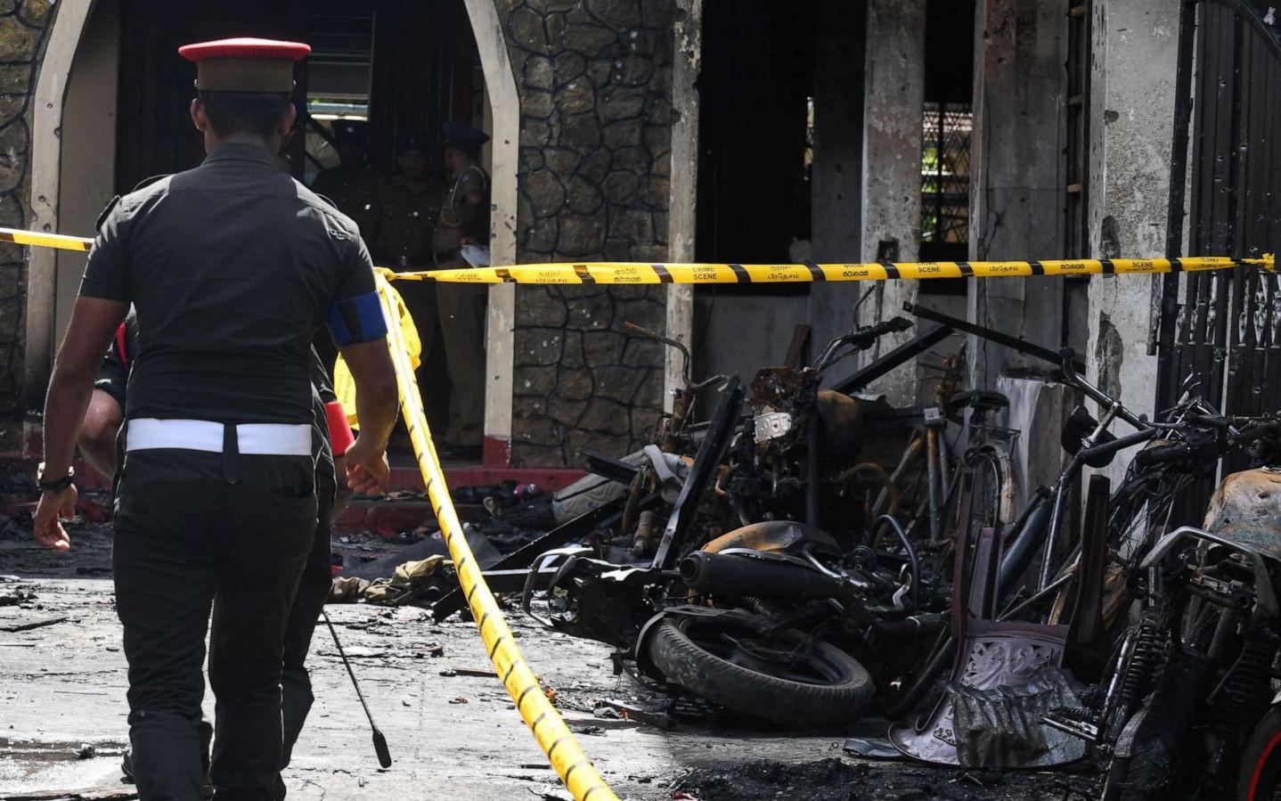 Toàn cảnh lễ Phục sinh đẫm máu ở Sri Lanka