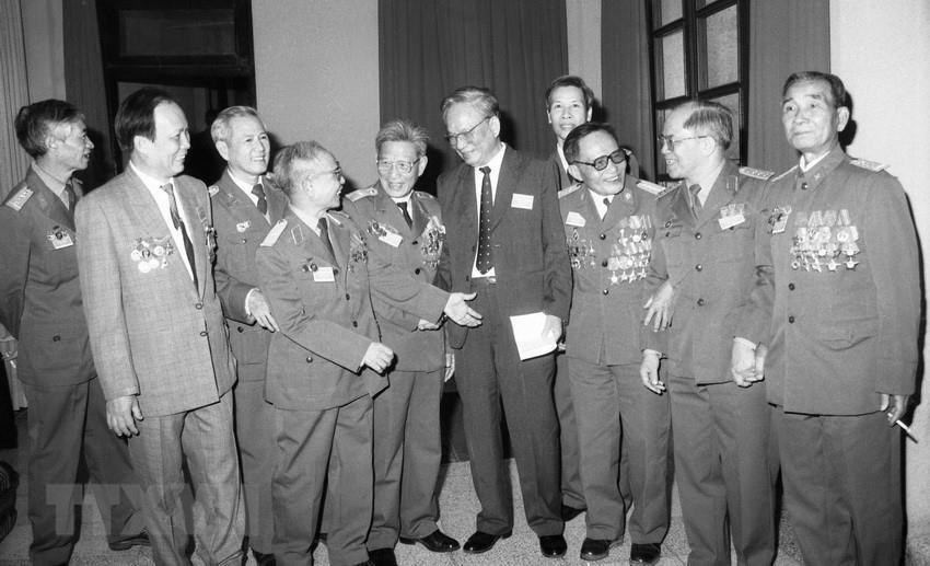 Vĩnh biệt Đại tướng Lê Đức Anh - Vĩnh biệt một cuộc đời lừng lẫy - Ảnh 11.