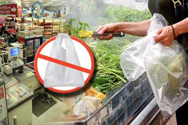 Hàn Quốc phạt lên đến 3 triệu won nếu dùng túi nilon tại siêu thị - Ảnh 1.