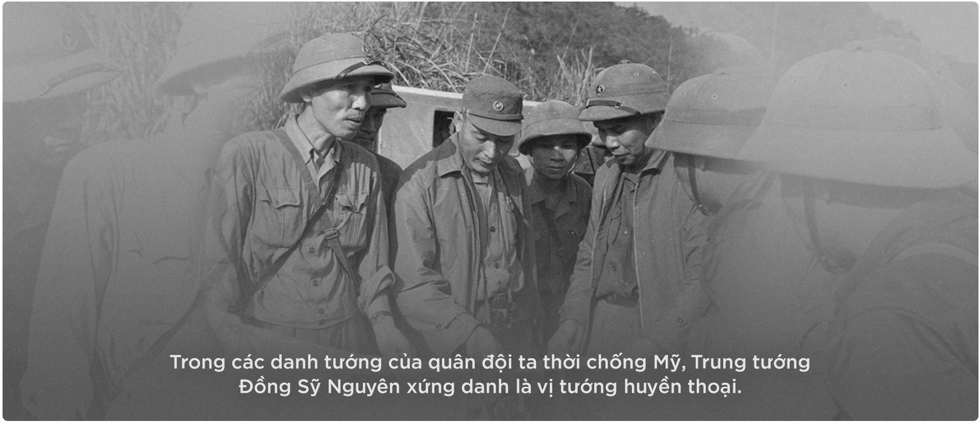 Vĩnh biệt vị tướng già huyền thoại - Đồng Sỹ Nguyên - Ảnh 1.