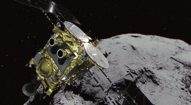 Nhật Bản cho nổ tung tiểu hành tinh để nghiên cứu sự sống - Ảnh 1.