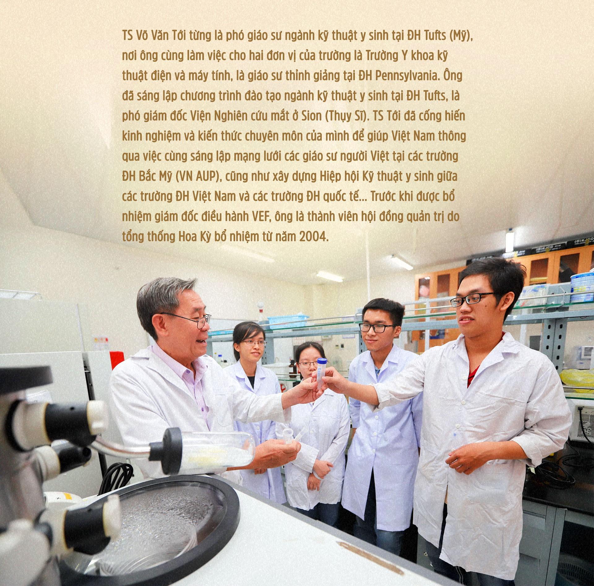 GS Võ Văn Tới: Về nước vì sinh viên Việt Nam thất bại - Ảnh 11.