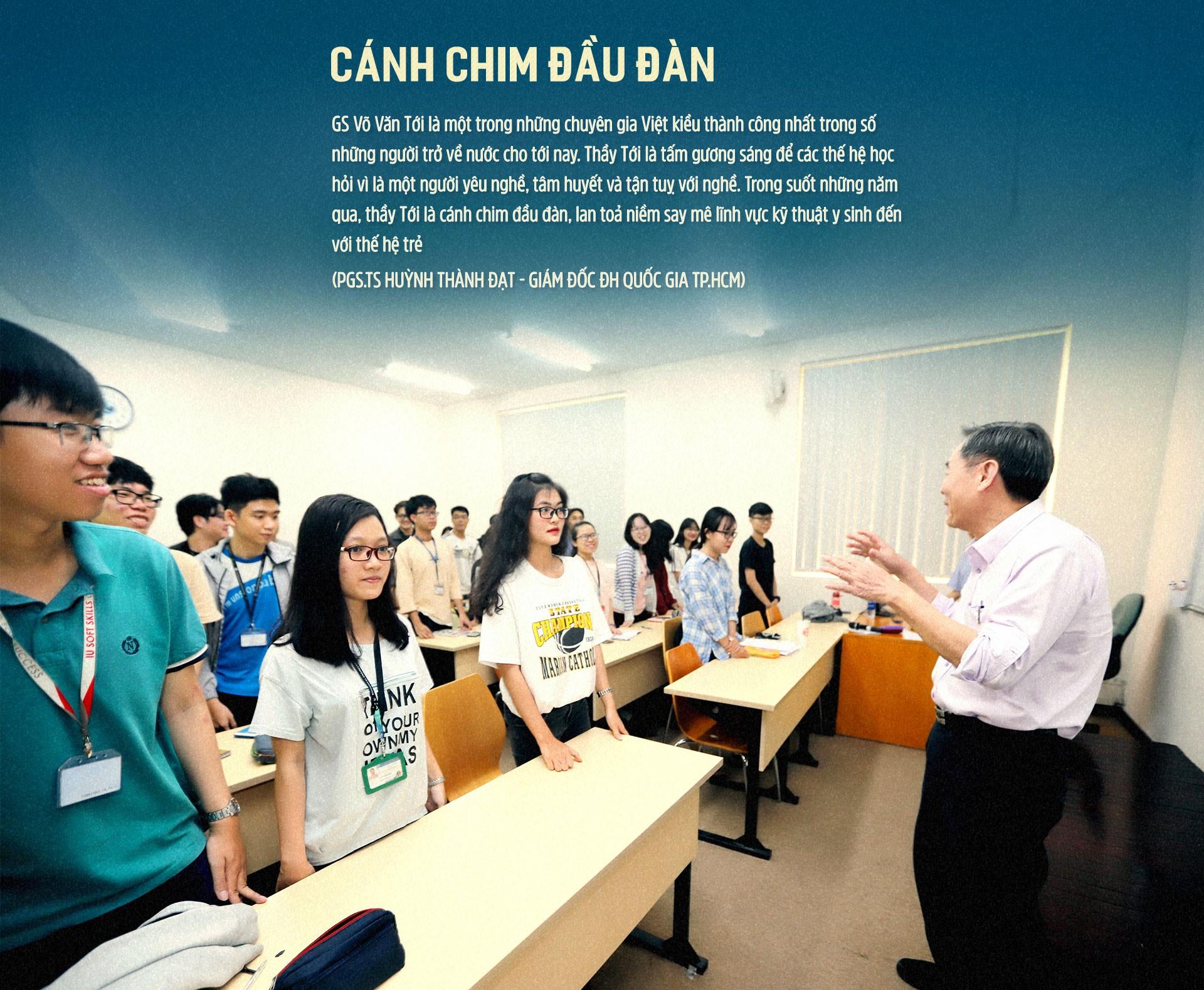 GS Võ Văn Tới: Về nước vì sinh viên Việt Nam thất bại - Ảnh 13.