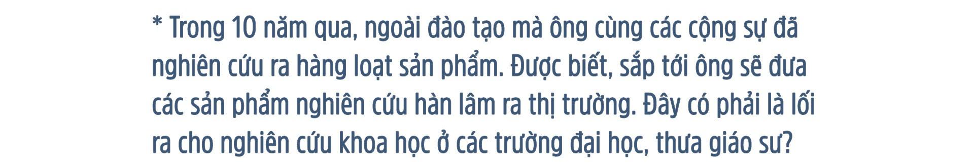 GS Võ Văn Tới: Về nước vì sinh viên Việt Nam thất bại - Ảnh 12.