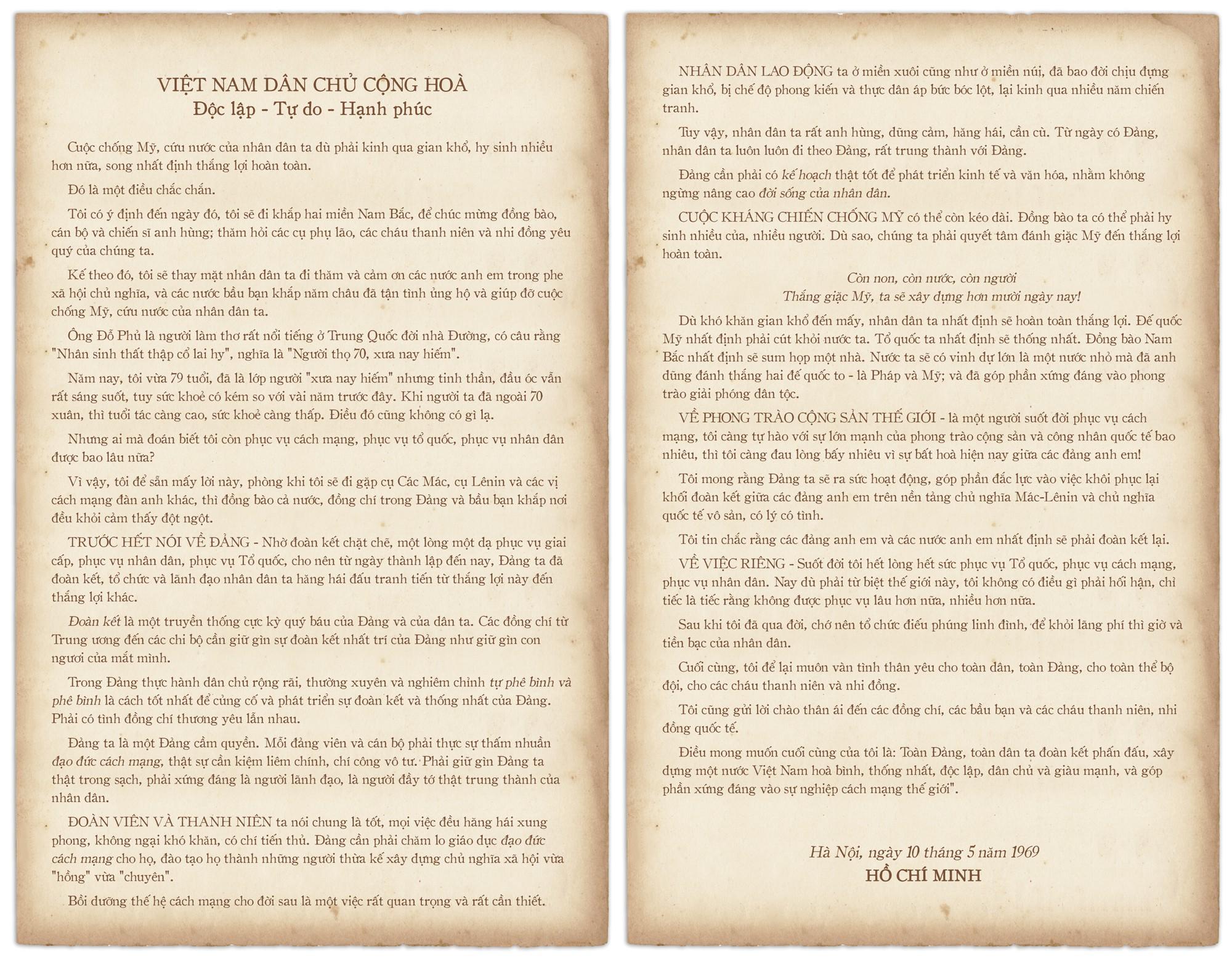 Di chúc của Chủ tịch Hồ Chí Minh: Như ngọn đuốc soi đường cho dân tộc - Ảnh 15.