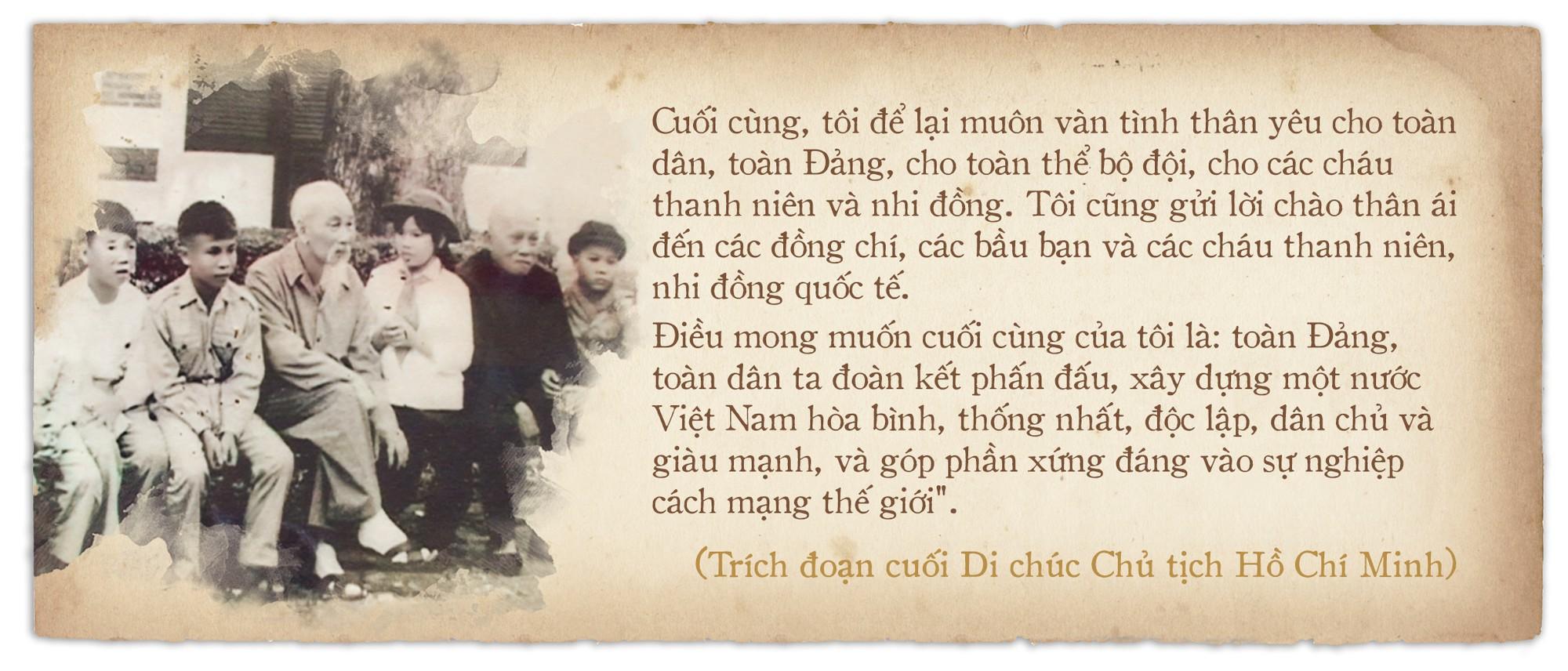 Di chúc của Chủ tịch Hồ Chí Minh: Như ngọn đuốc soi đường cho dân tộc - Ảnh 6.