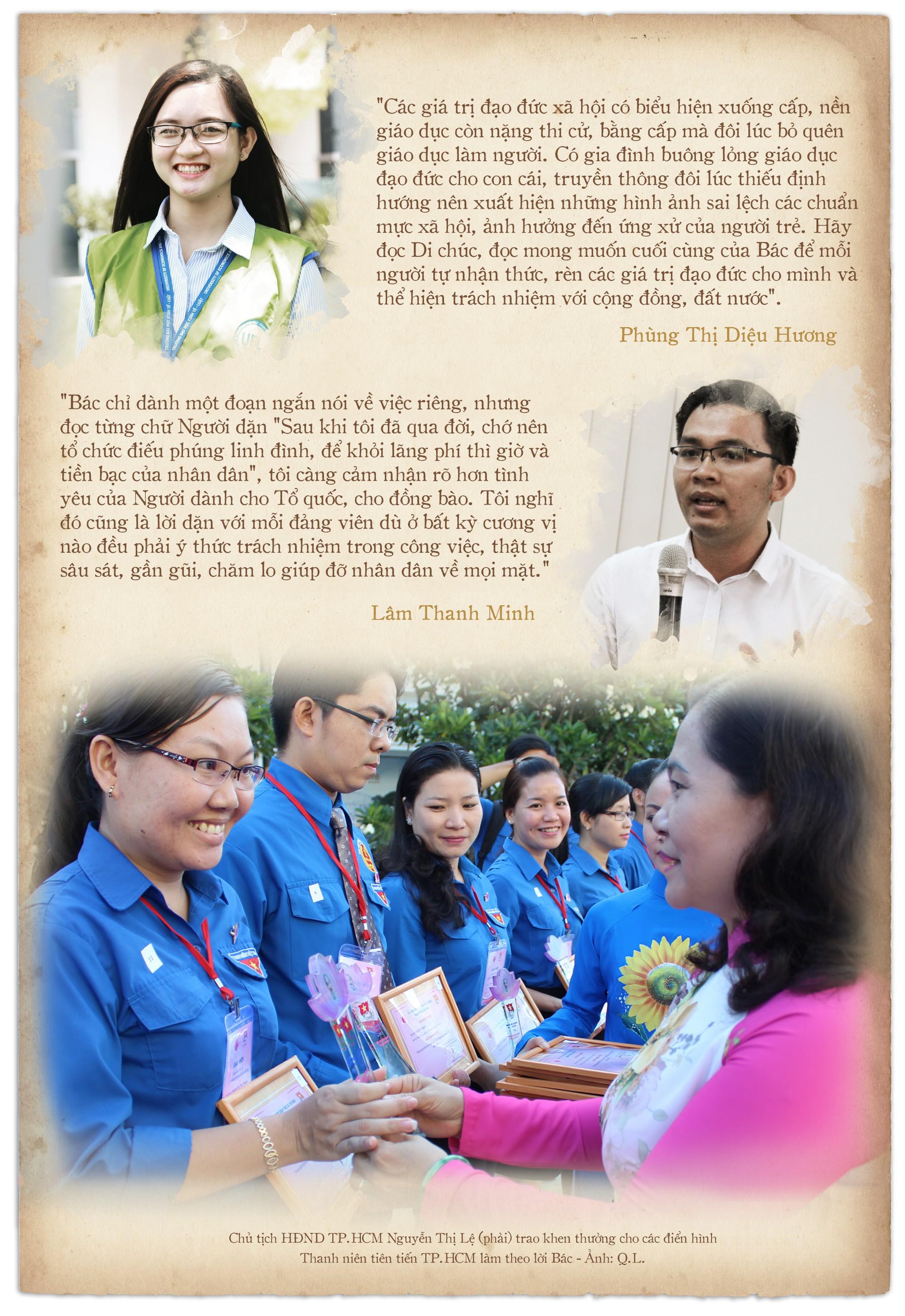 Di chúc của Chủ tịch Hồ Chí Minh: Như ngọn đuốc soi đường cho dân tộc - Ảnh 10.