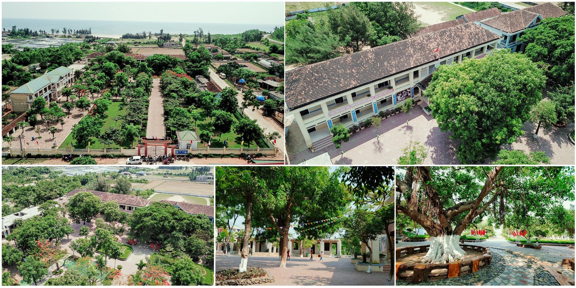 Ngôi trường rợp bóng cây như công viên - Ảnh 9.