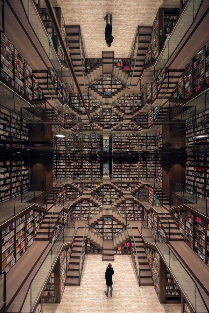 Mê mẩn với nhà sách mê cung ở Trung Quốc - Ảnh 4.