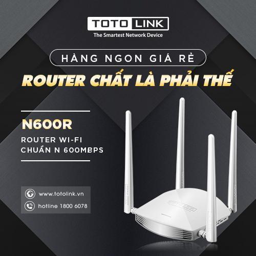 TOTOLINK N600R - sự lựa chọn thông minh cho wifi gia đình bạn - Ảnh 3.