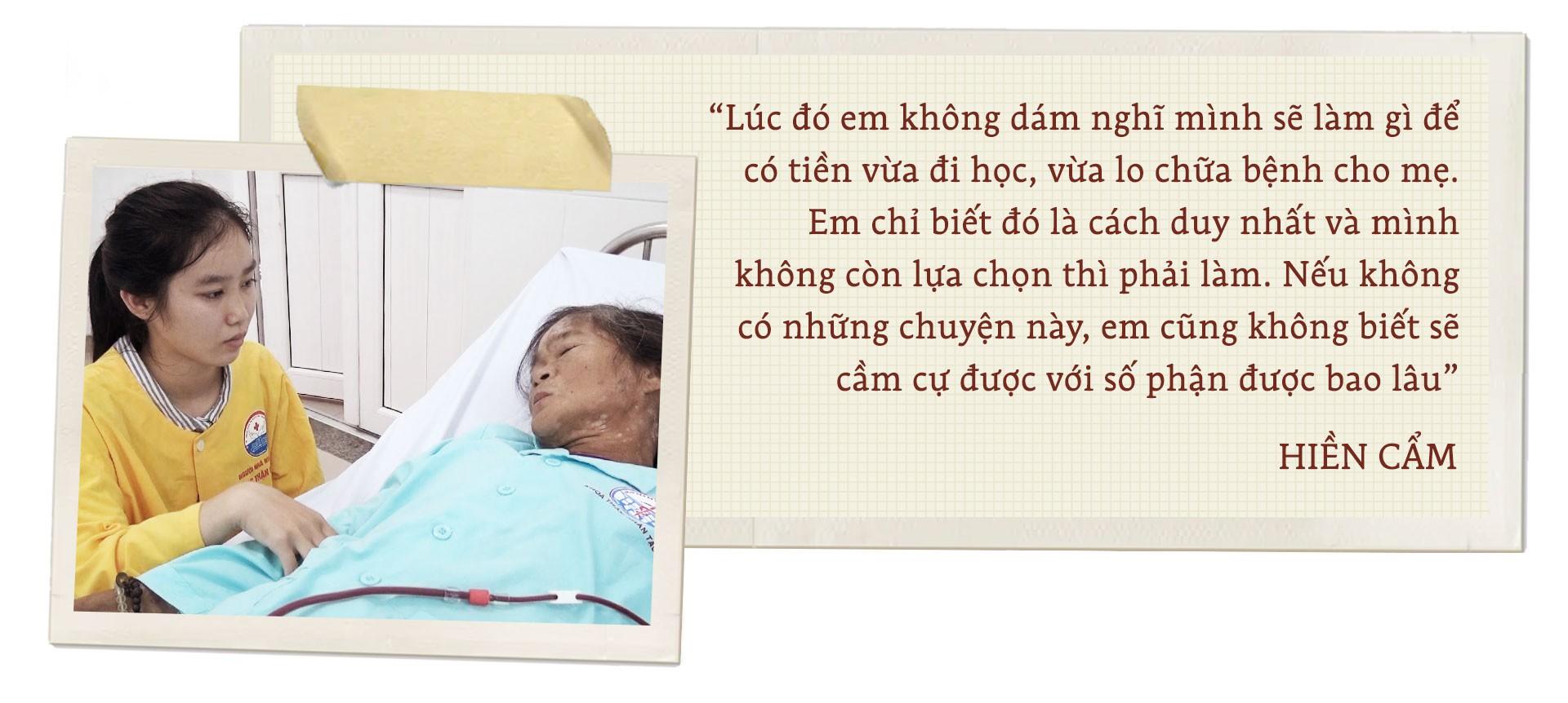 Hành trình yêu thương cùng cô gái Cõng mẹ lên giảng đường - Ảnh 4.