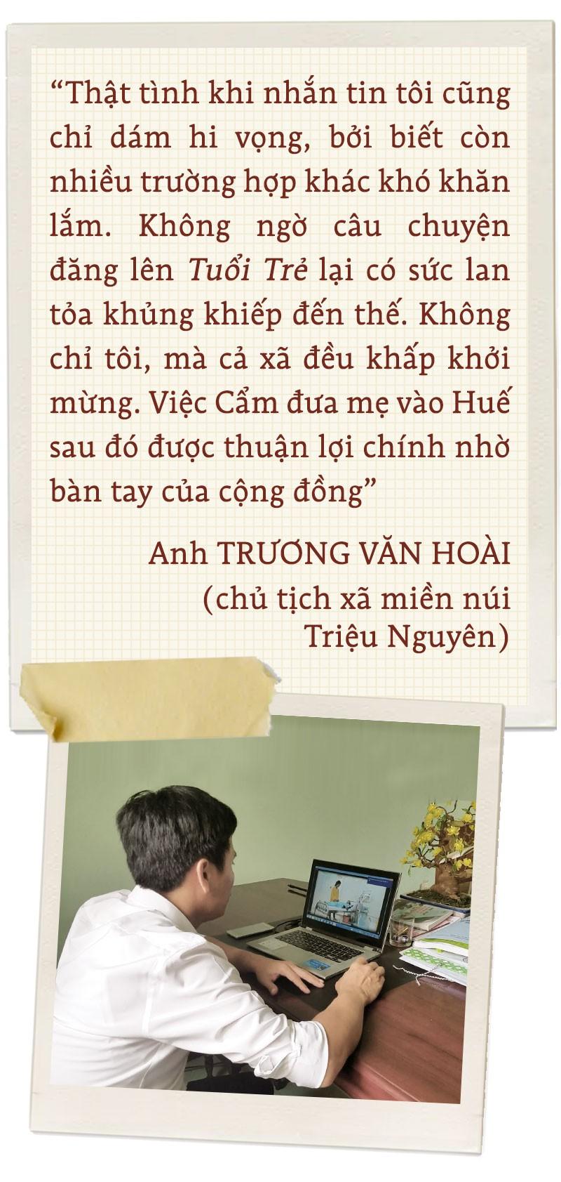 Hành trình yêu thương cùng cô gái Cõng mẹ lên giảng đường - Ảnh 3.