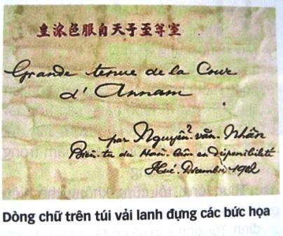 Nguyễn Văn Nhân, Nguyễn Khắc Nhân: ai là tác giả tranh lễ phục triều Nguyễn? - Ảnh 2.
