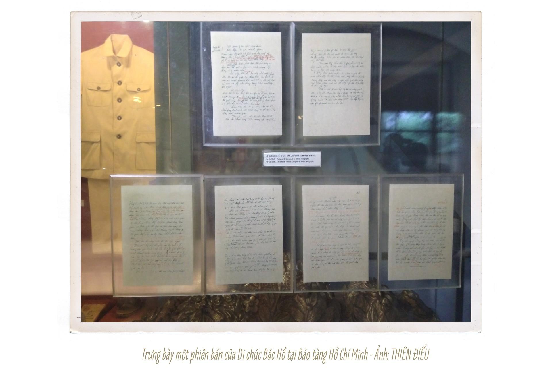 Chuyện chưa kể về bản Di chúc và những kỷ vật đặc biệt của Bác Hồ - Ảnh 7.
