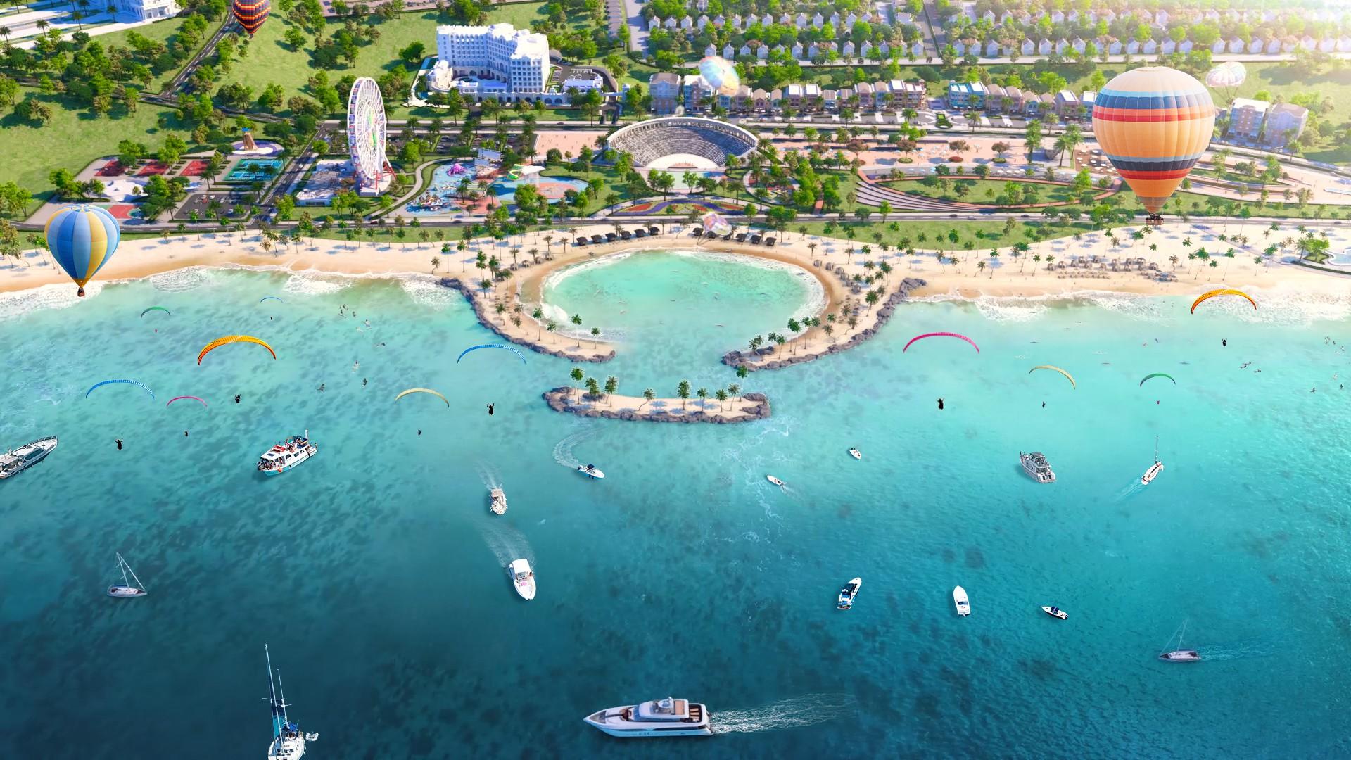 Tổ hợp du lịch nghỉ dưỡng giải trí xứng tầm ở Phan Thiết - Ảnh 4.