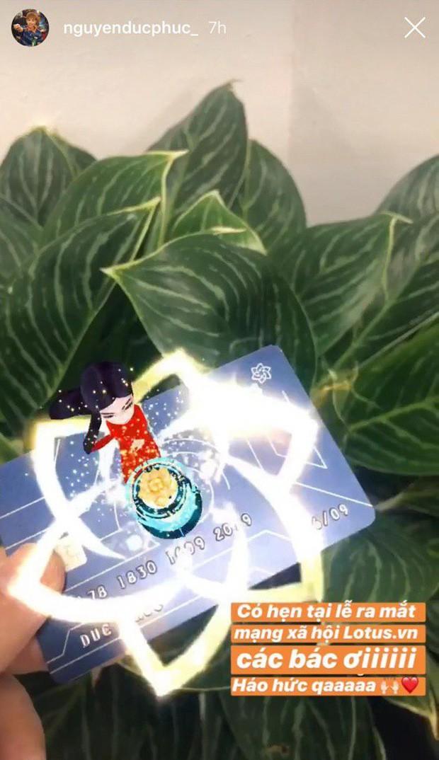 Sao Vbiz, hot-teen đồng loạt khoe thiệp mời ra mắt MXH Lotus - Ảnh 9.