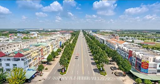 Nhộn nhịp bất động sản Bàu Bàng - Ảnh 1.