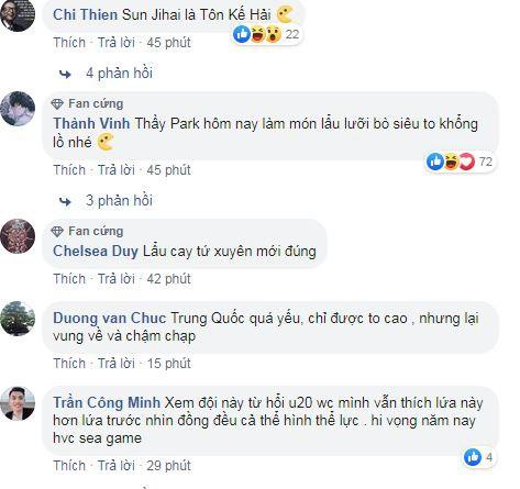 Co dong vien Viet Nam 'khong tin noi' U22 Trung Quoc... 'yeu' du vay