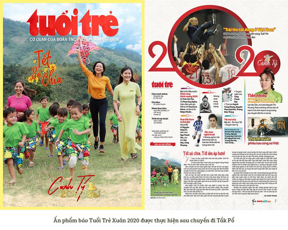 Tuổi Trẻ, HHen Niê đến với cô trò Tắk Pổ và câu chuyện bìa báo Tết Canh Tý 2020 - Ảnh 9.