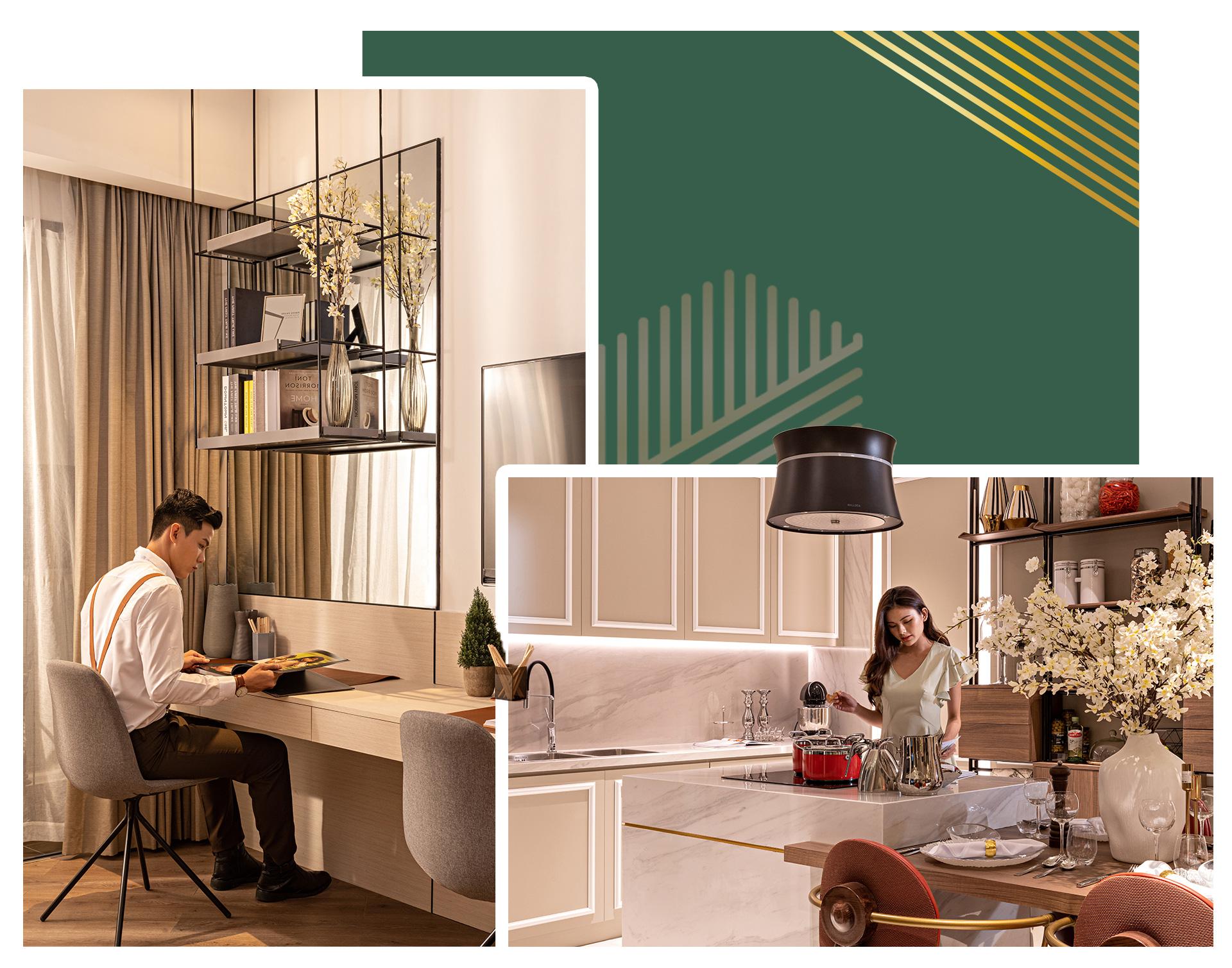 Anderson Park - căn hộ chuẩn hạng phòng Suite 5 sao đã sẵn sàng trình làng - Ảnh 4.