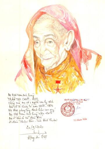 Lần đầu có website ảnh chân dung 'Mẹ Việt Nam anh hùng' - Ảnh 5.