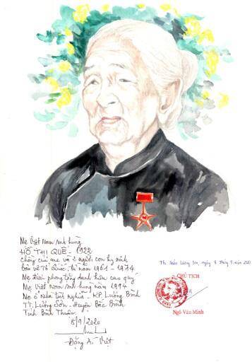 Lần đầu có website ảnh chân dung 'Mẹ Việt Nam anh hùng' - Ảnh 6.