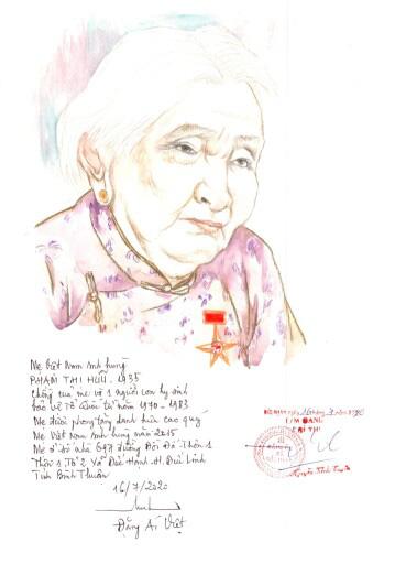 Lần đầu có website ảnh chân dung 'Mẹ Việt Nam anh hùng' - Ảnh 3.